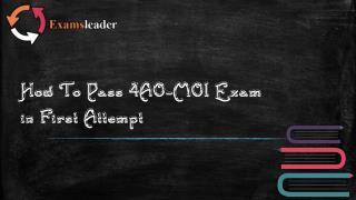 Examsleader 4A0-M01 Dumps