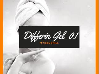 Get Healthy Skin With Gel | Buy Online | A Ret Gel 0.1