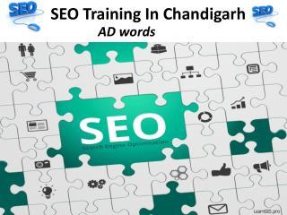 SEO training in Chandigarh
