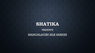 Gorgeous Mangalagiri Silk Sarees Online