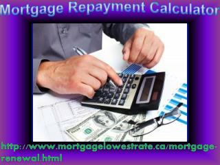 Home Mortgage Repayment Calculator 1-800-929-0625