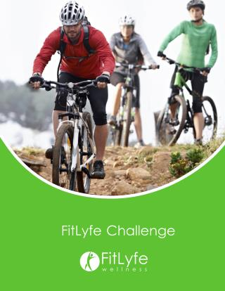 FitLyfe Challenge is an employer-sponsored fitness challenge application which allows you to energize your members as th