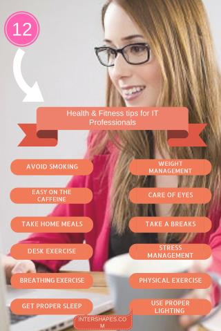 Health and Fitness tips for IT professionals