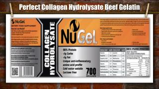 Perfect Collagen Hydrolysate Beef Gelatin
