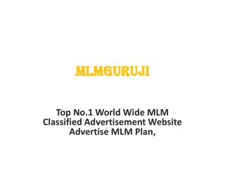 MLM Guruji is a platform users posts and share information about MLM business