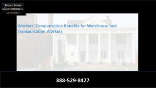 Champaign Workers' Compensation Benefits for Warehouse and Transportation Workers
