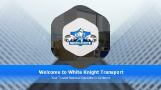 White Knight Removals Canberra