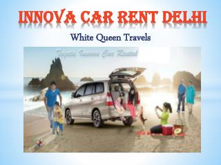 Innova car Rent Delhi, Hire Innova car online Booking