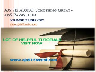 AJS 512 ASSIST  Something Great-ajs512assist.com