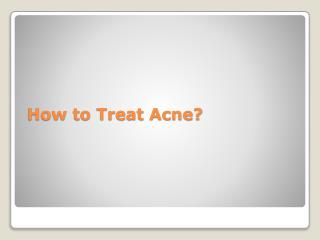 How to treat Acne? Use Retin A Micro Cream