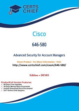 646-580 Certification Practice Test