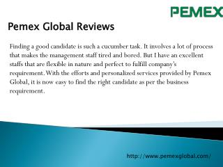 Pemex Global Reviews