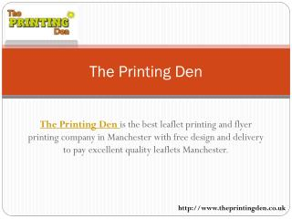 The Cheap Leaflet Printing Manchester and the Most Effective Promotional
