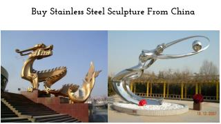 Buy Stainless Steel Sculpture From China