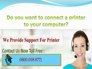 5 ways to connect a printer to your computer