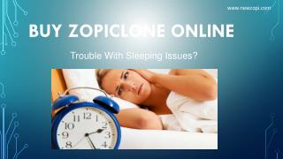 Buy Zopiclone Online without any Prescription