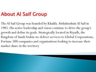 Khalifa Al Saif Reviews