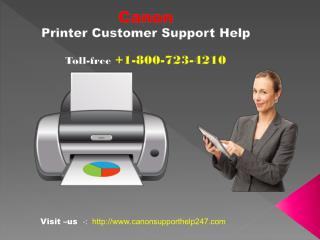 Canon Printer Customer Support Service