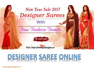 Designer Sarees New Year Sale 2017