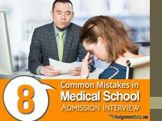 8 Mistakes to Avoid During a Medical School Interview