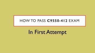 C9550-412 VCE Test Questions