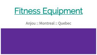 Best Fitness Equipment Repair Parts Specialist in Anjou