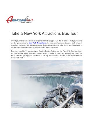 Boston to Niagara Falls @Attractions4usBoston to Niagara Falls @Attractions4us