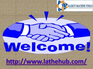 Rajkot Lathe Machine | Manufacturer, dealer, Supplier and Exporter of Heavy Duty Lathe Machine in Gujarat.