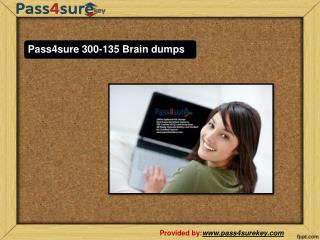 100% Pass Guarantee Cisco 300-135 Pass4sure Exam pdf Dumps