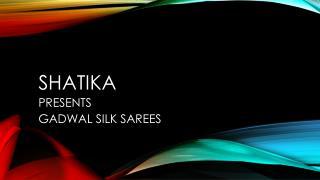 Gadwal Silk Sarees Online Shopping