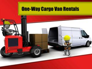 One-Way Cargo Van Rentals