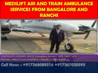 Call Medilift Ambulance for Transferring the Patients Safely and Comfortably