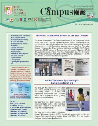 Best Boarding Schools in India-Admission Open in Schools Delhi-The Mann School