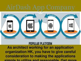 Mobile app  company  Hong Kong