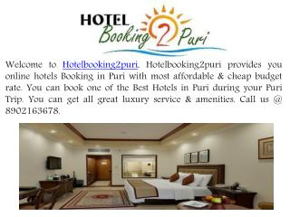 Book Cheap Luxury Best Hotels in Puri - Hotelbooking2puri