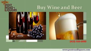 Cheap Wines, Beers and Spirits Served in Havre De Grace MD | (410-939-0990)
