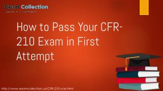 Examcollection CFR-210  Exam Questions