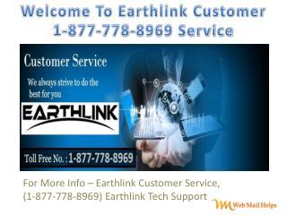 "Earthlink Customer "".1877-778/8969"" Service"