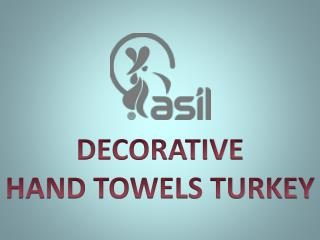 Decorative Hand Towels Turkey