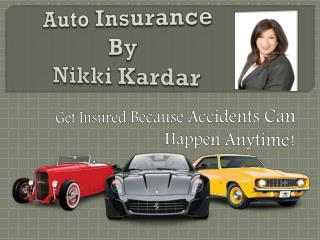Auto insurance Corona, CA - Get Insured Because Accidents Can Happen Anytime