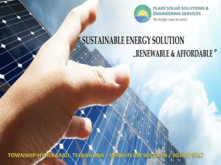 #Solar Rooftop dealers and supplier in hyderabad, Telangana