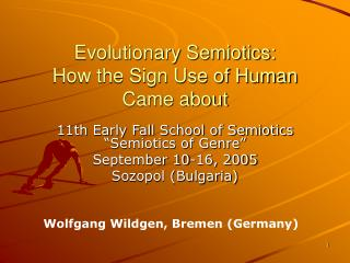 Evolutionary Semiotics: How the Sign Use of Human Came about