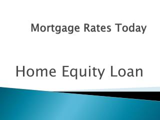 Mortgage Rates Comparison