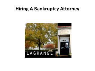 LaGrange Bankruptcy Attorney