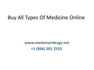 Buy All Types Of Medicine Online  Medicine at Your Doorstep