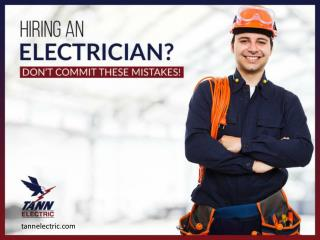 Avoid these 4 Mistakes while hiring an Electrician