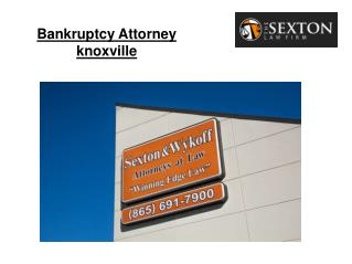 Bankruptcy Attorney knoxville