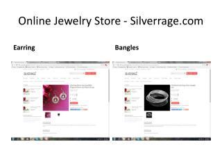 Online Jewelry Store - Silverrage
