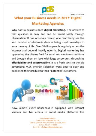 21st Century: The Era of Digital Marketing Agencies