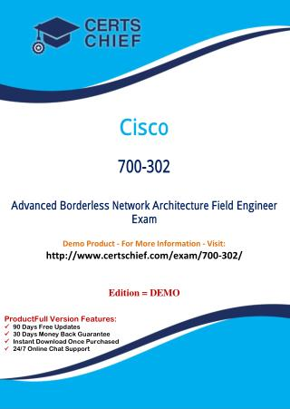700-302 Professional Certification Test